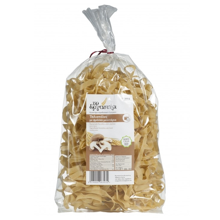 TAGLIATELLE WITH MUSHROOMS 500GR