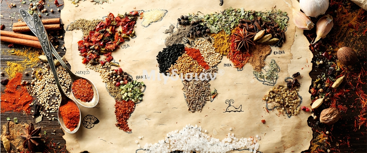Quallity spices from all over the world!