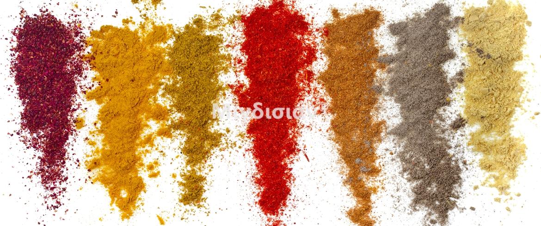 Μείγματα μπαχαρικών φτιαγμένα με αγνά υλικά