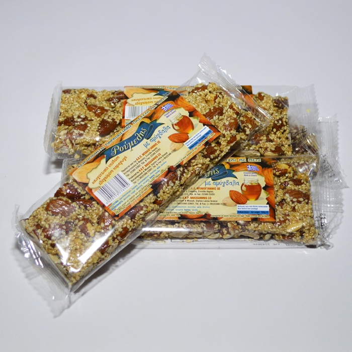 SESAMΕ BAR WITH ALMONDS